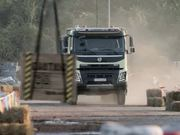 Volvo Stunt: 4-year-old Sophie Drives the Truck