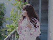 Girl in Pink Pajamas