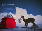 Low Poly Postcard From Santa 2012