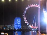 London New Year's Eve – Start of Fireworks