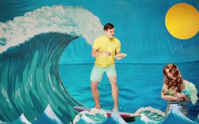 Taco Del Mar Commercials: Mermaid and Dolphins