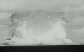 Underwater Atomic Bomb Test