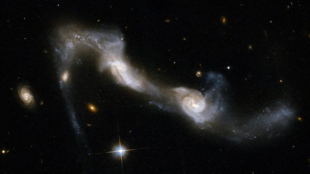 The new survey also showed a fundamental difference between the nearby galaxies part of the current Universe and far more distant galaxies seen as they