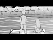 Kazuya & Rin - Lakeside scene