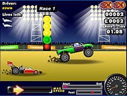 Drag Race Demon Game Play Online At Y8 Com