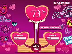 Love tester game play online