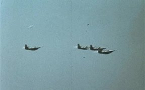 Aircraft Drop Depth Charges