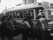 Leaving for Relocation Center by Japanese