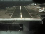 Plane-Eye View Of Carrier Landing