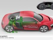 AUDI R8 e-tron technical animation