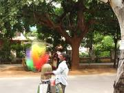 Time Lapse of a Balloon Vendor