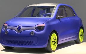 Ross Lovegrove: Twin'z Concept Car for Renault
