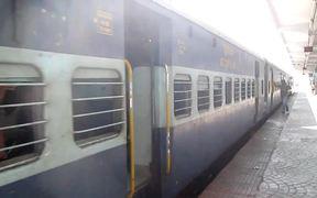 Train Leaving Secunderabad Railway Station