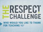 PSA Ad: Respect