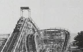 Coney Island - 1940s - Roller Coaster
