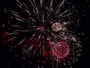 Fireworks in Slow Motion