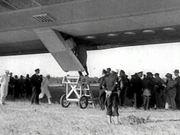 Hindenburg - Passengers Disembarking 1937