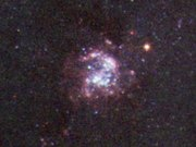 Zooming on a star-forming region in NGC 1672