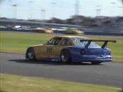 Dueling GT-1 Race Cars