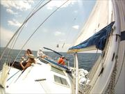 Race Sailing in Sporades Islands