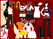 Hey Girl Dressup