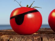 Tomato Romp Videos: Tomato Fight