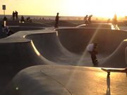 3 Year Old Kid Rides at Venice Skate Park
