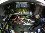 Cyclocross race prep for Koksijde