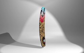 Humanoid Plank Wakeboard - 360 View