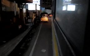 Time Lapse Bus Ride from Airport