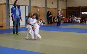 Judo Competition Litlle Kids