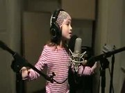 Cute Kid Sings