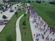 "Unedited, Start of 5k run ""Race for Hero's"""