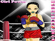 Boxing Girl Dress Up