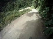 Downhill on the Death Road, Bolivia