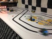 High Speed Racing on Figure of Eight Track