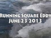 Running Square Eddy Line