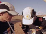 Sir Ranulph Fiennes Marathon des Sables Day One