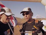 Sir Ranulph Fiennes Marathon des Sables Day One
