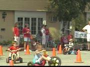 Bike Race Tractor Pull