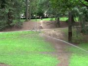 Mountain Bike Riding Kid at Laurelhurst Park