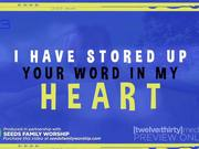 Your Word In My Heart