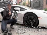 Matthews Car Mount with C500 on a Lamborghini!