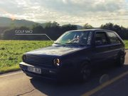 "Vw Golf Mk2 1,8 8v Weber ""Deep Blue"""
