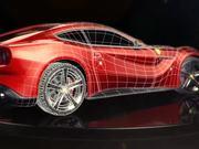 Ferrari F12 berlinetta in 3D