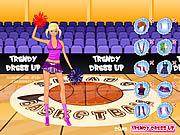 Trendy Dressup Cheerleader