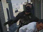 """Grand Theft Auto V Trailer - """"Black Skinhead"""""""