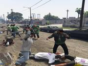 GTA V - Gang War Mod: Ballas vs. Families