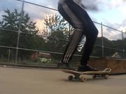 Cool Kids on a Skateboard