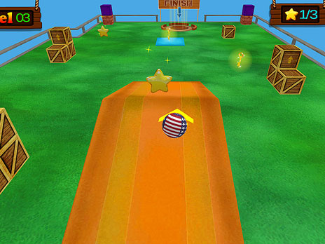 Super Ball 3D Game - Play online at Y8.com
